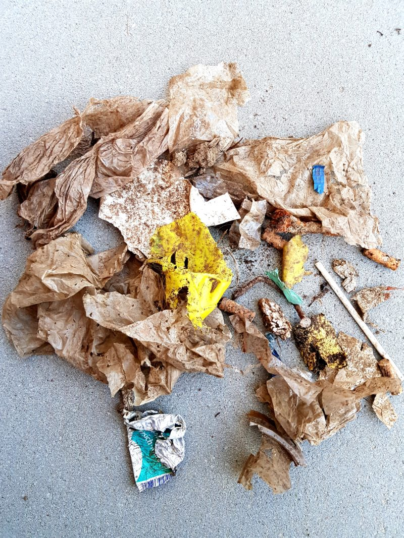 Müll-Plastik-nicht abbaubar