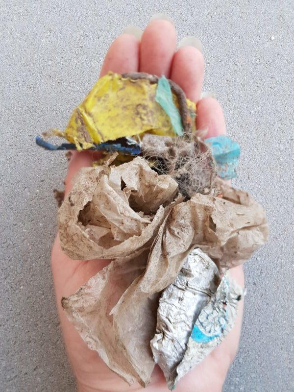 Nachhaltigkeit-Müllsammeln - nachhaltig leben
