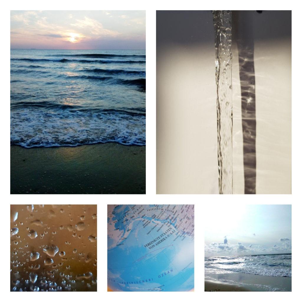 Wasser, Wasserstrahl, Wassertropfen, Meer