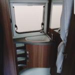 Wohnwagen - nachhaltig reisen Badezimmer