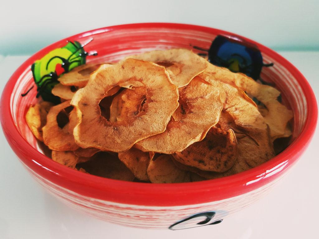Apfelchips selbermachen - Schale