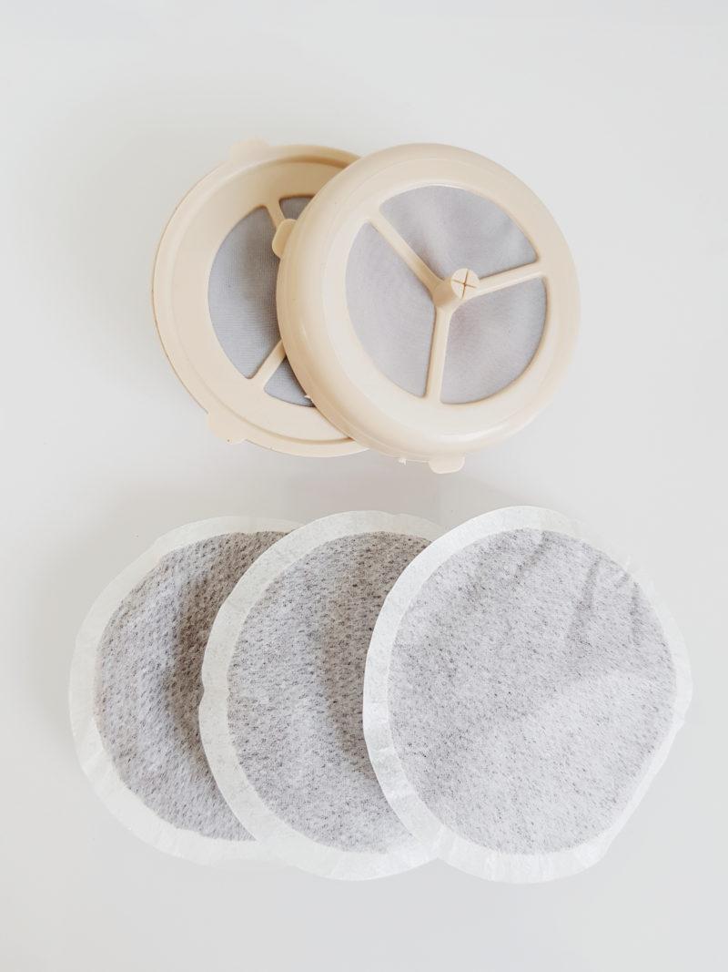 Plastikverpackungen sparen - Kaffepads wiederverwendbar