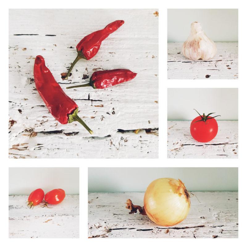 Tomaten Ketchup Rezept - Collage