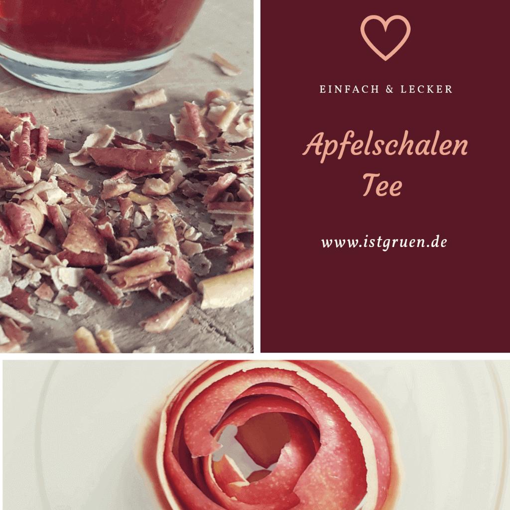 Apfelschalen Tee selber machen