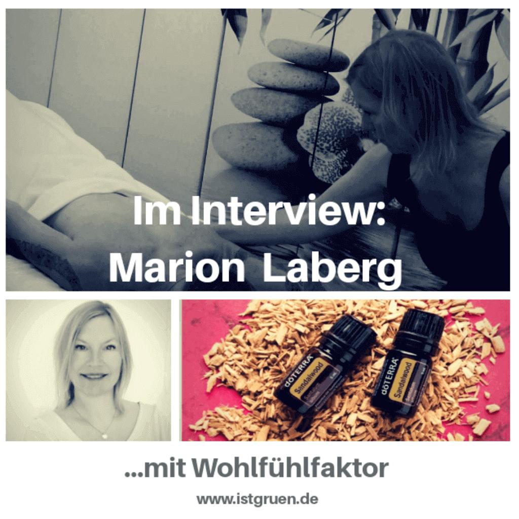 Im Interview Marion Laberg